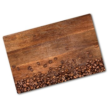 Deska do krojenia hartowana Ziarna kawy jakość