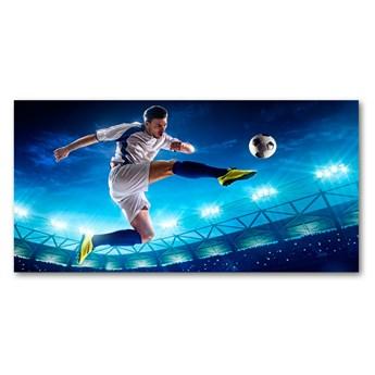 Foto obraz szkło akryl Piłkarz