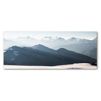 Foto obraz szkło akryl Górskie szczyty