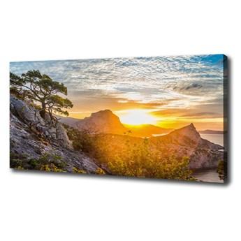 Foto obraz na płótnie Zachód słońca