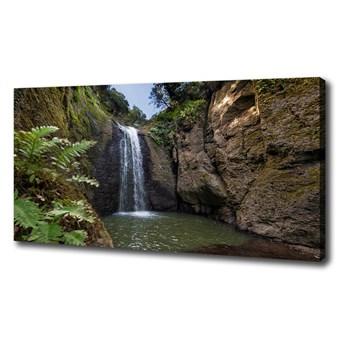 Foto obraz na płótnie Wodospad w Sardynii