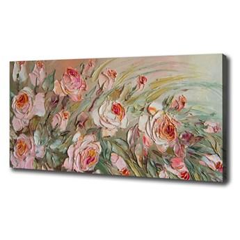 Nowoczesny obraz na płótnie zdjęcie Róże