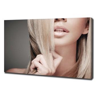 Foto obraz na płótnie Piękna blondynka