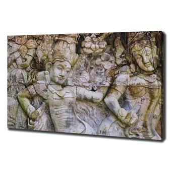 Foto obraz na płótnie Kamienna rzeźba