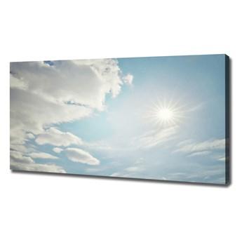 Foto obraz na płótnie Chmury na niebie
