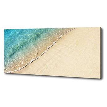 Foto obraz na płótnie Fala na plaży