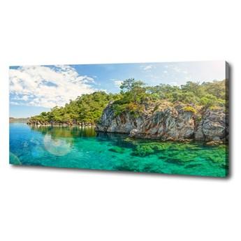 Foto obraz na płótnie Błękitna laguna