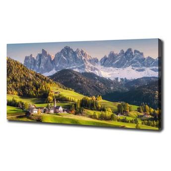 Foto obraz na płótnie Panorama góry