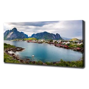 Foto obraz na płótnie Lofoty w Norwegii