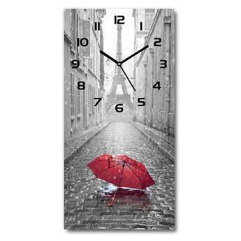 Zegar ścienny cichy Parasol Francja
