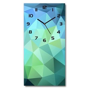 Zegar szklany ścienny Abstrakcja tło