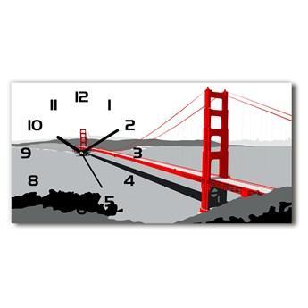 Zegar ścienny szklany Most San Francisco