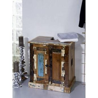 SPIRIT Szafka pod umywalkę #101 drewno z odzysku lakierowane