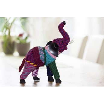 DEKO Figurka, słoń #64 Materiał