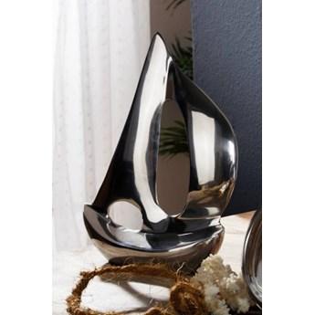 DEKO Rzeźba, jacht #100 Aluminium 20 cm