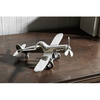 DEKORACJA Rzeźba, samolot #102 Aluminium