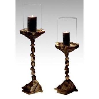 DEKO Rzeźba, świecznik #027 Aluminium 73 cm