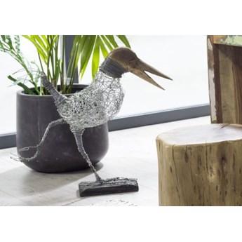 DEKO Rzeźba, ptak #002 Metal