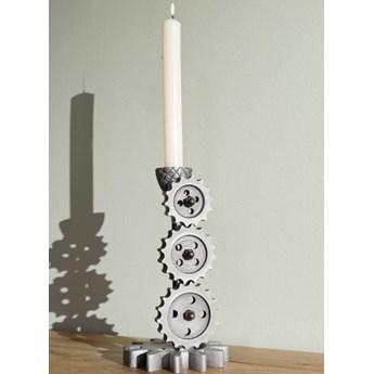 DEKO Rzeźba, świecznik #227 Aluminium