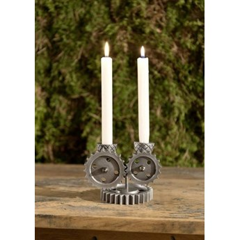 DEKO Rzeźba, świecznik #229 Aluminium