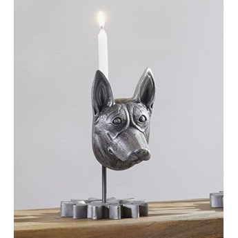DEKO Rzeźba, świecznik #239 Aluminium