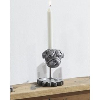 DEKO Rzeźba, świecznik #245 Aluminium