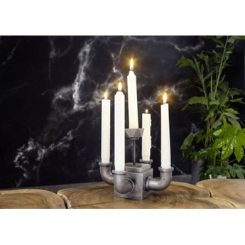 DEKO Rzeźba, świecznik #267 Aluminium