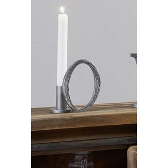 DEKO Rzeźba, świecznik #318 Aluminium