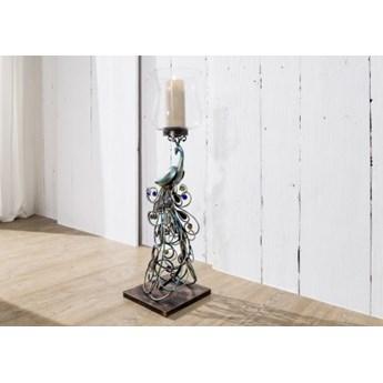 DEKO Rzeźba, świecznik #1002 Metal