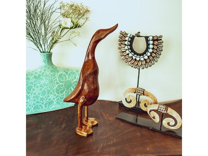 Kaczka NAKED My Love Bali Large Kategoria Figury i rzeźby Ptaki Zwierzęta Drewno Kolor Brązowy