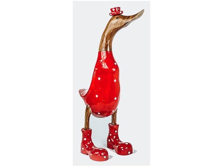 Kaczka FLY-BANE My Love Bali Small Zwierzęta Ptaki Drewno Kategoria Figury i rzeźby Kolor Czerwony