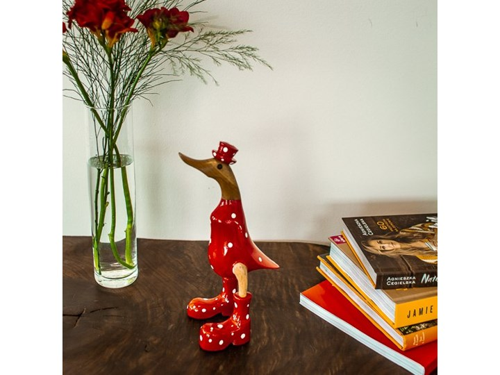 Kaczka FLY-BANE My Love Bali Small Zwierzęta Drewno Ptaki Kategoria Figury i rzeźby