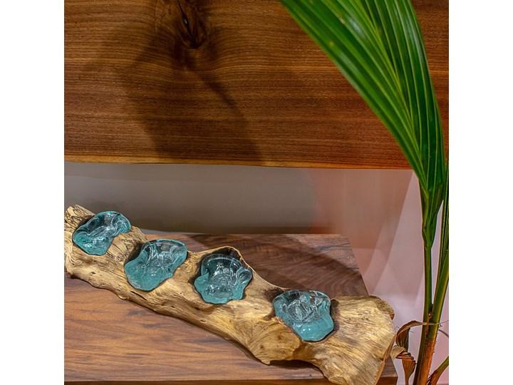 Drewniany świecznik Lilin, My love Bali Szkło Drewno Kategoria Świeczniki i świece