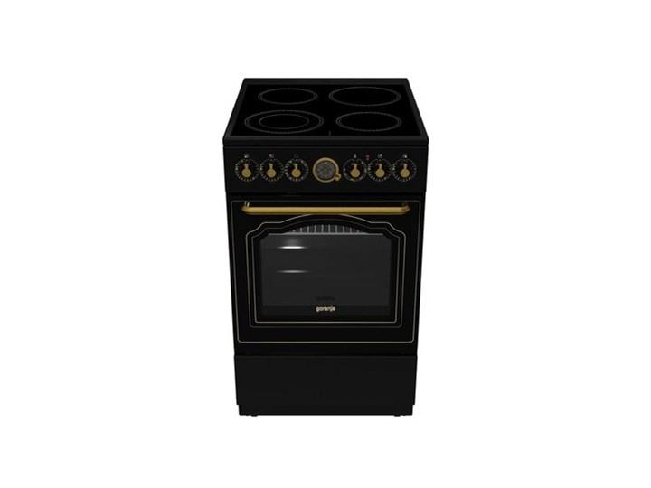 Kuchnia GORENJE ECS5250CLB Szerokość 50 cm Rodzaj płyty grzewczej Ceramiczna