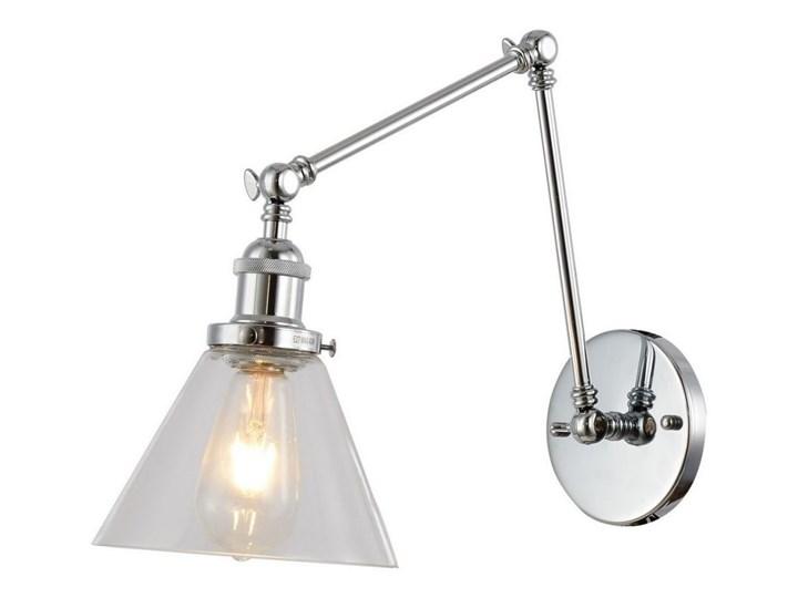 Kinkiet Lumina Deco LDW 6801-2 (PR+GR) Nubi Pro W2 Szkło Metal Kategoria Lampy ścienne