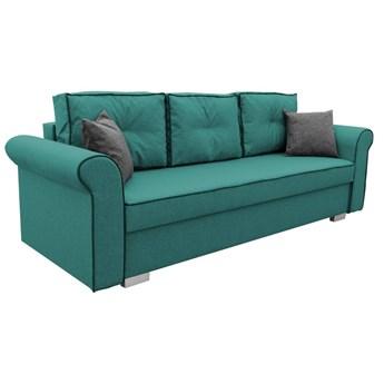 Sofa z Funkcją Spania Pele Turkusowy