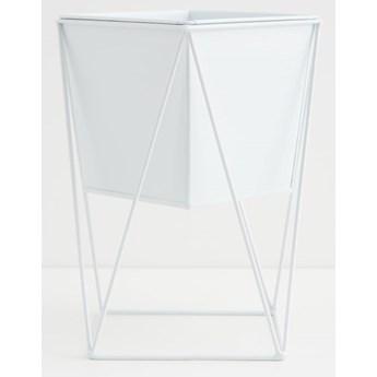 Sinsay - Doniczka na stojaku - Biały