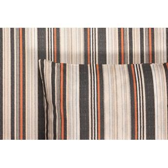Pościel Renforce Raphia Stripe Black