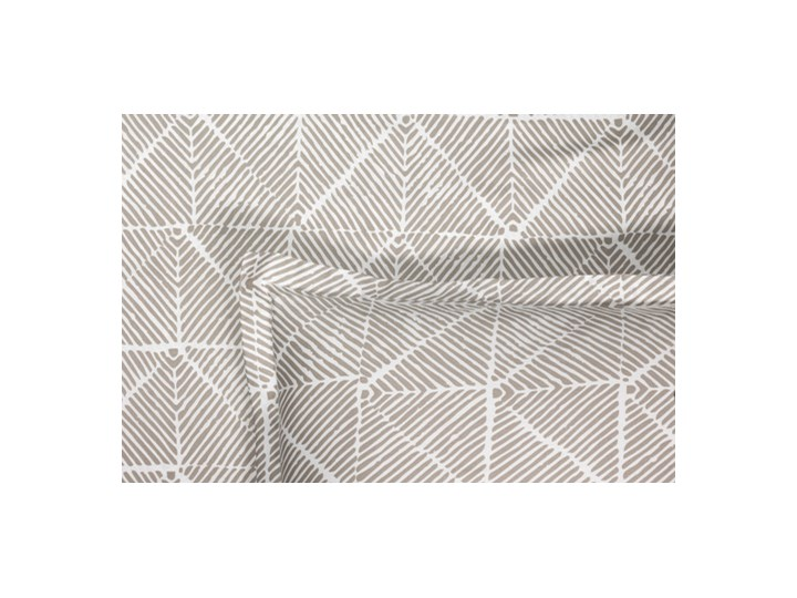 Pościel Satin Obben Grey Len 140x200 cm Bawełna 50x60 cm 170x240 cm Satyna Kolor Szary Wzór Kratka