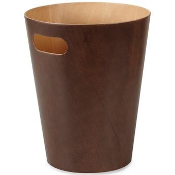 Kosz na śmieci Woodrow 7,5L brązowy