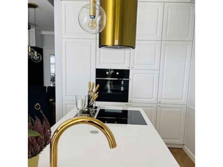 Okap kuchenny Heweno Isola 39.1 Gold Okap przyścienny Okap wyspowy Kolor Brązowy