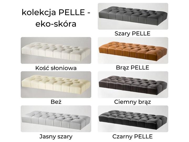 Ławka Pikowana Industrialna CLASSIC LOREN - LOFT Materiał obicia Tkanina Styl Industrialny