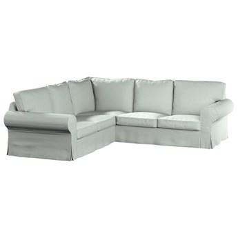Pokrowiec na sofę narożną Ektorp, szara plecionka, 240/136 x 82 x 73 cm, Living