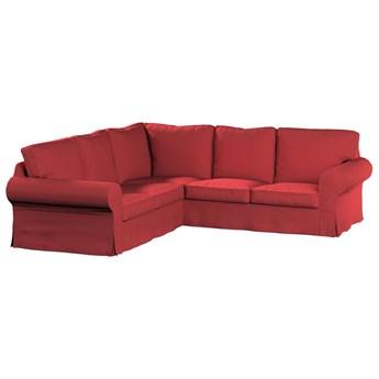 Pokrowiec na sofę narożną Ektorp, czerwony, 240/136 x 82 x 73 cm, Living