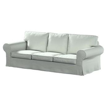Pokrowiec na sofę Ektorp 3-osobową, nierozkładaną, szara plecionka, 218 x 88 x 73 cm, Living