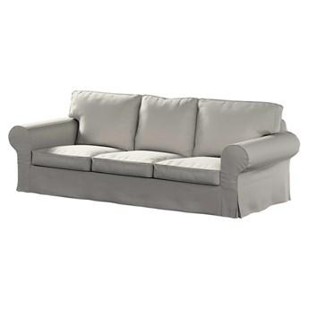 Pokrowiec na sofę Ektorp 3-osobową, nierozkładaną, jasny szary, 218 x 88 x 73 cm, Living