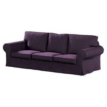 Pokrowiec na sofę Ektorp 3-osobową, nierozkładaną, fioletowy szenil, 218 x 88 x 73 cm, Living