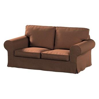 Pokrowiec na sofę Ektorp 2-osobową, nierozkładaną, brunatny szenil, 173 x 83 x 73 cm, Living