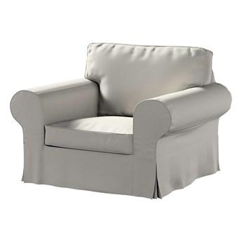 Pokrowiec na fotel Ektorp, jasny szary, 103 x 82 x 73 cm, Living
