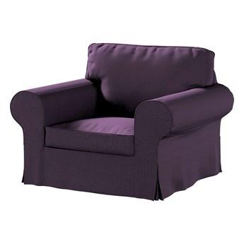 Pokrowiec na fotel Ektorp, fioletowy szenil, 103 x 82 x 73 cm, Living